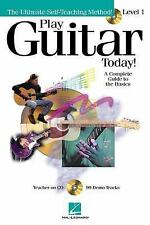 Play Guitar Today Beginner Songs Chords Riffs Notation 2001 w/CD 99 Demo Tracks