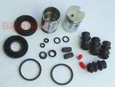 REAR Brake Caliper Seal & Piston Repair Kit for Fiat Bravo II 2006-2014 (BRKP63)