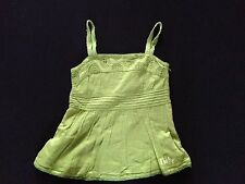 DKNY GREEN GIRLS CAMMIE TUNIC AGE 5 RRP £44 NOW £6.50