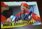 Mike Lieberthal Signed 1999 Fleer Tradition Phillies Baseball Card Auto All Star