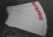 Pre punched Card Set (20pcs) + 4 Snaps for Silver Reed SK280 SK360 SK600 700 740