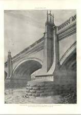 1902 Study For The Architectural Treatment Of A Bridge H Statham