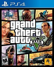PS4 Grand Theft Auto V 5 Five Racing NEW Sealed Region Free GTA5