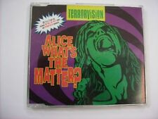 TERRORVISION - ALICE WHAT'S THE MATTER? (CD2) - CD SINGLE EXCELLENT CONDITION