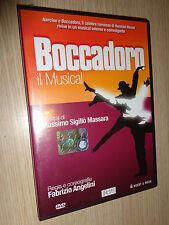 DVD BOCCADORO IL MUSICAL REGIA DI FABRIZIO ANGELINI SIBILLANO LEONARDI MARCIANO
