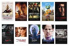 JOHNNY DEPP - FILM POSTER POSTCARD SET # 1