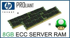 HP Proliant 8GB (2x4GB) PC2-6400P 800Mhz ECC Reg Server Ram Kit 497767-B21