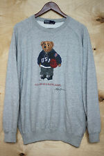 Ralph Lauren Polo Bear Basketball Team USA Rare Vintage Jumper