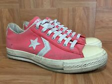 Schuhe Converse All Star OX Canvas LTD 1C362 Herren Damen pink Vegan Old Effect