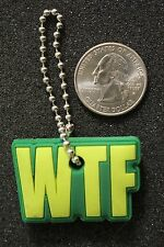 Loungefly WTF What The F*ck Funny Key Cover Keychain Key Ring #15858