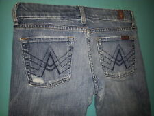 """7 For All Mankind """"A Pocket"""" Boot cut Women's Jeans Size 26, inseam 31"""