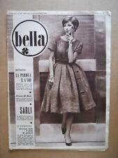 BELLA - Rivista moda n°39 1959  Il grande sarto italiano SARLI  [D39]