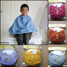 Hair Dressing Aid Hair Cutting Catcher Cape Gown Bib New Colorful For Kids