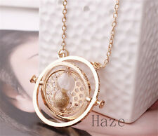 Harry Potter Spins Hourglass Time Turner Hermione Granger Rotating gold