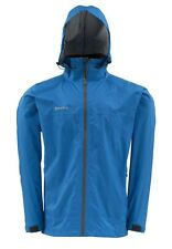 Simms HYALITE Rain Shell Jacket ~ Tidal Blue NEW ~ Closeout Size 2XL