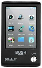 Bush 2.8 Inch Touchscreen 16GB MP3/MP4 with Bluetooth Black *Same Day Dispatch*