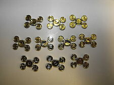 Lego Lot Of 10 Gold Coins On Sprue 10 20 30 & 40 New 40 Total Coins