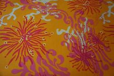 LEE JOFA Fabric LILLY PULITZER BIMINI Orange Pink Off White Sold by Yard