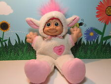 "EASTER LAMB ""I LOVE EWE"" - 12"" Russ Troll Kidz -EXCELLENT CLEAN CONDITION"
