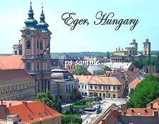 Hungary - EGER - Travel Souvenir FRIDGE MAGNET