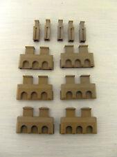 Playmobil  6  Zinnen 5 Verbinder  Ritterburg  3666 3667 Ritter  Mauer