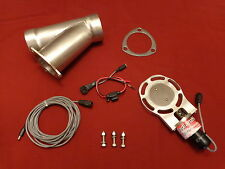 "Electric Exhaust Cutout BadlanzHPE Cutouts 3.5"" 89mm SS  5 YEAR WARRANTY!"