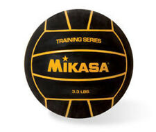 Mikasa Water Polo Training Series Heavy Weight Ball  BLK W/Yellow Stripes W4000