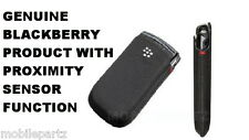 Genuine BlackBerry Pocket Pouch Case for Torch 9800 9810 with Proximity Sensor