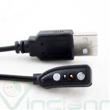 Cavo USB caricabatteria cavetto 1m specifico per smart watch Pebble smartwatch