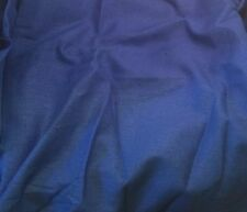 "100% LINEN Fabric - PERIWINKLE BLUE 54"" by the yard"