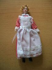 Reutter Porzellan Puppe Mädchen Köchin Girl Doll Puppenstube  Art 1.780/1 1:12