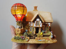 BOXED LILLIPUT LANE UP UP AND AWAY LIGHTS UP WITH DEEDS HAND MADE IN ENGLAND