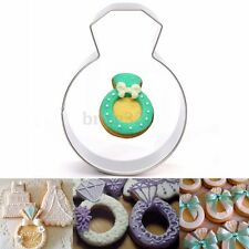 Diamond Ring Wedding Party Cookie Cutter Cake Baking Biscuit Pastry Mould Tool