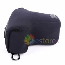 Neoprene Soft Camera Protector Case Bag For Nikon D3100 D3200 D3300 18-55mm Lens