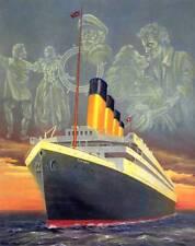 RMS TITANIC - Beautiful 8x10 In. Art Print