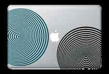 "3D Circles Decal Sticker for Apple Mac Book Air/Pro Dell Laptop 13"" 15"" 17"