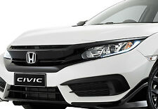 GENUINE HONDA BLACK RS FRONT GRILLE EXTENSION TRIM 10TH CIVIC SEDAN COUPE 2016+