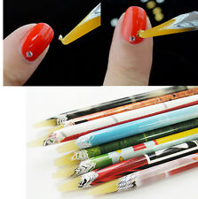 1PC Wax Resin Rhinestones Gems Nail Art Picking Tools Pencil Pen Pick Up Pen L7S