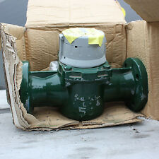 "New Elster H4000 water flow meter totaliser flanged 2"" 2 inch DN50"