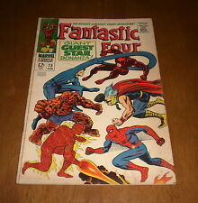FANTASTIC FOUR COMIC BOOK No. 73  - GUEST STAR BONANZA
