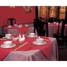 25 Papel X cubierta de tabla Rojo Slipcover Desechables restaurante Fiesta Boda Paños