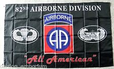 UNITED STATES 82ND ARMY AIRBORNE 3 X 5 POLYESTER MILITARY FLAG