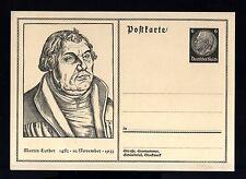 8152-GERMAN EMPIRE-Third REIC.UNUSED POSTCARD M.LUTHER KING.WWII.DEUTSCHES REICH