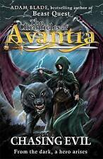 Chasing Evil (The Chronicles of Avantia), Adam Blade, Good condition, Book