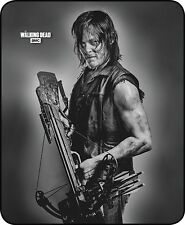 "79""x96"" Queen Size The Walking Dead Daryl Dixon Mink Blanket Super Plush Fleece"