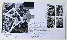 AUSTRALIA REMEMBERS FDC 1995 SIGNED BY 6 VICTORIA CROSS WINNERS. A RARE COVER.
