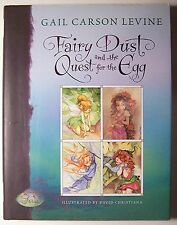 FAIRY DUST AND THE QUEST FOR THE EGG Gail Carson Levine ILLUS 1st Ed. Signed -U1