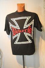 Original tee shirt MC  Biker LIBERTEE croix pattée taille M neuf