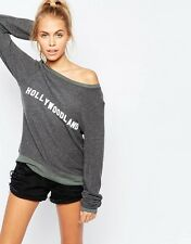 WILDFOX COUTURE HOLLYWOODLAND SWEATSHIRT SMALL