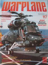 Warplane magazine Issue 117 Kaman SH-2F Seasprite Cutaway drawing